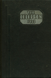 Page 1, 1933 Edition, Wyomissing Area High School - Colophon Yearbook (Wyomissing, PA) online yearbook collection