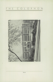 Page 13, 1933 Edition, Wyomissing Area High School - Colophon Yearbook (Wyomissing, PA) online yearbook collection