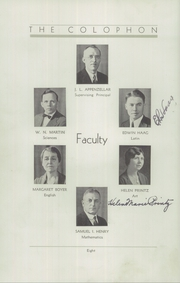 Page 14, 1933 Edition, Wyomissing Area High School - Colophon Yearbook (Wyomissing, PA) online yearbook collection