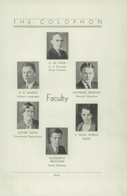 Page 15, 1933 Edition, Wyomissing Area High School - Colophon Yearbook (Wyomissing, PA) online yearbook collection