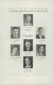 Page 16, 1933 Edition, Wyomissing Area High School - Colophon Yearbook (Wyomissing, PA) online yearbook collection