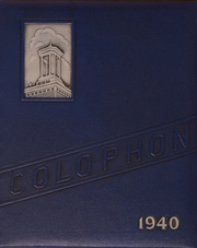 Page 1, 1940 Edition, Wyomissing Area High School - Colophon Yearbook (Wyomissing, PA) online yearbook collection