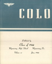 Page 6, 1944 Edition, Wyomissing Area High School - Colophon Yearbook (Wyomissing, PA) online yearbook collection