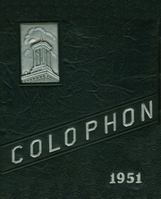 Page 1, 1951 Edition, Wyomissing Area High School - Colophon Yearbook (Wyomissing, PA) online yearbook collection