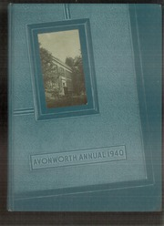 1940 Edition, Avonworth High School - De Rebus Yearbook (Pittsburgh, PA)