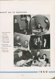 Page 13, 1940 Edition, Avonworth High School - De Rebus Yearbook (Pittsburgh, PA) online yearbook collection