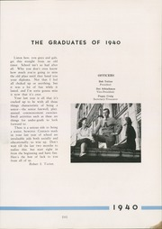 Page 15, 1940 Edition, Avonworth High School - De Rebus Yearbook (Pittsburgh, PA) online yearbook collection