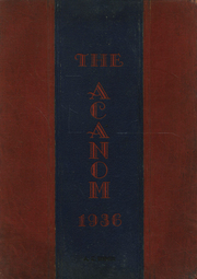 Page 1, 1936 Edition, Monaca High School - Acanom Yearbook (Monaca, PA) online yearbook collection