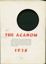 Page 5, 1938 Edition, Monaca High School - Acanom Yearbook (Monaca, PA) online yearbook collection