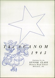 Page 7, 1943 Edition, Monaca High School - Acanom Yearbook (Monaca, PA) online yearbook collection