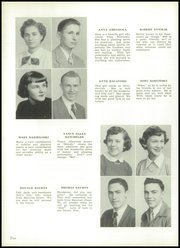 Page 14, 1952 Edition, Memorial High School - Hawkeye Yearbook (Hanover Township, PA) online yearbook collection