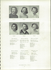 Page 13, 1951 Edition, United High School - Shamrock Yearbook (Armagh, PA) online yearbook collection