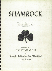 Page 3, 1951 Edition, United High School - Shamrock Yearbook (Armagh, PA) online yearbook collection