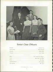 Page 8, 1951 Edition, United High School - Shamrock Yearbook (Armagh, PA) online yearbook collection