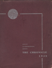 1940 Edition, St Josephs College High School - Chronicle Yearbook (Philadelphia, PA)
