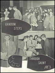 Page 9, 1949 Edition, St Josephs College High School - Chronicle Yearbook (Philadelphia, PA) online yearbook collection