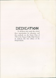 Page 9, 1956 Edition, Pequea Valley High School - Pequoian Yearbook (Kinzers, PA) online yearbook collection