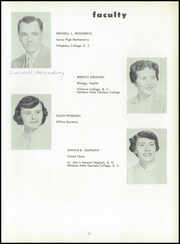 Page 15, 1955 Edition, Cambridge Springs Joint High School - Resonator Yearbook (Cambridge Springs, PA) online yearbook collection