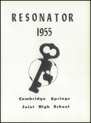 Page 5, 1955 Edition, Cambridge Springs Joint High School - Resonator Yearbook (Cambridge Springs, PA) online yearbook collection