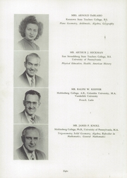 Page 12, 1947 Edition, Fleetwood High School - Tiger Tale Yearbook (Fleetwood, PA) online yearbook collection