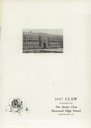 Page 5, 1947 Edition, Fleetwood High School - Tiger Tale Yearbook (Fleetwood, PA) online yearbook collection