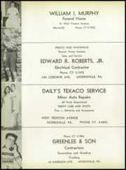 Page 108, 1957 Edition, Morrisville High School - Robert Morris Yearbook (Morrisville, PA) online yearbook collection