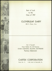Page 112, 1957 Edition, Morrisville High School - Robert Morris Yearbook (Morrisville, PA) online yearbook collection