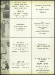 Page 116, 1957 Edition, Morrisville High School - Robert Morris Yearbook (Morrisville, PA) online yearbook collection