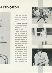 Page 11, 1963 Edition, Morrisville High School - Robert Morris Yearbook (Morrisville, PA) online yearbook collection