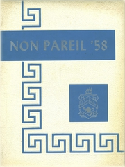 1958 Edition, Nether Providence High School - Non Pareil Yearbook (Wallingford, PA)