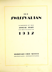 Page 11, 1932 Edition, Swissvale High School - Swissvalian Yearbook (Swissvale, PA) online yearbook collection