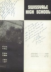 Page 7, 1955 Edition, Swissvale High School - Swissvalian Yearbook (Swissvale, PA) online yearbook collection