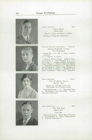 Page 14, 1930 Edition, Cheltenham High School - El Delator Yearbook (Cheltenham, PA) online yearbook collection