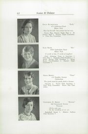 Page 16, 1930 Edition, Cheltenham High School - El Delator Yearbook (Cheltenham, PA) online yearbook collection