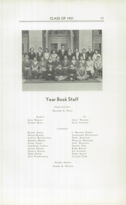 Page 15, 1931 Edition, Cheltenham High School - El Delator Yearbook (Cheltenham, PA) online yearbook collection