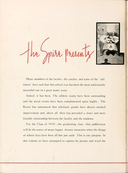 Page 10, 1939 Edition, Belmont Abbey College - Spire Yearbook (Belmont, NC) online yearbook collection