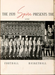 Page 6, 1939 Edition, Belmont Abbey College - Spire Yearbook (Belmont, NC) online yearbook collection