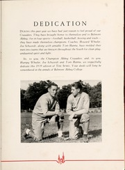 Page 9, 1939 Edition, Belmont Abbey College - Spire Yearbook (Belmont, NC) online yearbook collection