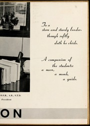 Page 9, 1952 Edition, Belmont Abbey College - Spire Yearbook (Belmont, NC) online yearbook collection