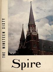 Page 1, 1960 Edition, Belmont Abbey College - Spire Yearbook (Belmont, NC) online yearbook collection