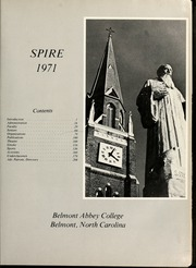 Page 5, 1971 Edition, Belmont Abbey College - Spire Yearbook (Belmont, NC) online yearbook collection