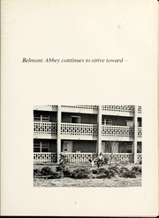 Page 7, 1971 Edition, Belmont Abbey College - Spire Yearbook (Belmont, NC) online yearbook collection