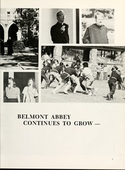 Page 11, 1975 Edition, Belmont Abbey College - Spire Yearbook (Belmont, NC) online yearbook collection