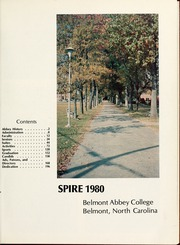 Page 5, 1980 Edition, Belmont Abbey College - Spire Yearbook (Belmont, NC) online yearbook collection