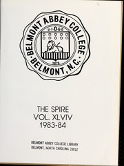 Page 5, 1984 Edition, Belmont Abbey College - Spire Yearbook (Belmont, NC) online yearbook collection