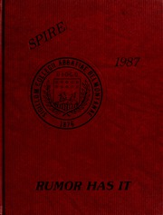 1987 Edition, Belmont Abbey College - Spire Yearbook (Belmont, NC)