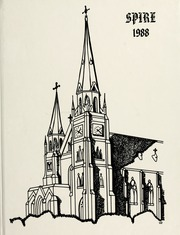 1988 Edition, Belmont Abbey College - Spire Yearbook (Belmont, NC)