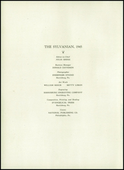 Page 6, 1945 Edition, William Penn High School - Sylvanian Yearbook (Harrisburg, PA) online yearbook collection