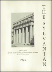 Page 7, 1945 Edition, William Penn High School - Sylvanian Yearbook (Harrisburg, PA) online yearbook collection