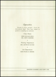 Page 9, 1945 Edition, William Penn High School - Sylvanian Yearbook (Harrisburg, PA) online yearbook collection